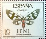 Sellos del Mundo : Europa : España :  Intercambio nf5xb 0,35 usd 10 cents. 1966