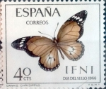Stamps : Europe : Spain :  Intercambio 0,40 usd 40 cents. 1966