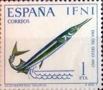 Sellos de Europa - España -  Intercambio cr2f 0,25 usd 1 ptas. 1967