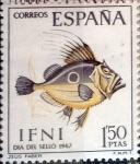 Stamps : Europe : Spain :  Intercambio 0,25 usd 1,50 ptas. 1967