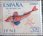 Stamps : Europe : Spain :  Intercambio 0,35 usd 3,50 ptas. 1967