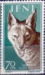 sello : Europa : España : Intercambio fda 0,35 usd 70 cents. 1957