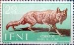 Sellos del Mundo : Europa : España :  Intercambio fda 0,25 usd 20 cents. 1957