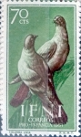 Stamps Spain -  Intercambio cr2f 0,30 usd 70 cents. 1957