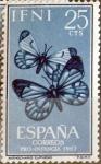 Sellos del Mundo : Europa : España : Intercambio 0,25 usd 25 cents. 1963