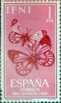 Stamps : Europe : Spain :  Intercambio 0,30 usd 1 pta. 1963