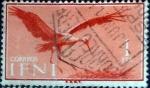 sello : Europa : España : Intercambio fda 0,20 usd 1 pta. 1960