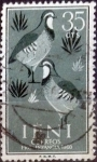Stamps Spain -  Intercambio 0,20 usd  35 cents. 1960