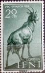 sello : Europa : España : Intercambio fda 0,20 usd  20 cents. 1959