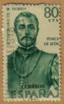 Stamps Europe - Spain -  Ponce de Leon