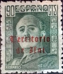 Stamps Spain -  Intercambio jxi 18,00 usd  90 cents. 1948
