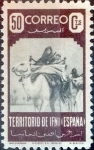 Sellos del Mundo : Europa : España :  Intercambio fda 13,50 usd  50 cents. 1947
