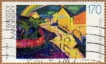 Sellos de Europa - Alemania -  WASSILI KANDINSKY 1866-1944