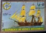 Sellos de Africa - Guinea Ecuatorial -  Intercambio aexa 0,25 usd 1 ptas. 1976