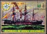 Sellos de Africa - Guinea Ecuatorial -  Intercambio aexa 0,35 usd 15 ptas. 1976