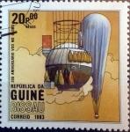 Sellos del Mundo : Africa : Guinea_Bissau : Intercambio 0,35 usd 20,00 pesos 1983
