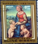 Stamps : Africa : Guinea_Bissau :  Intercambio 0,20 usd 8,00 pesos 1983