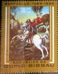 Stamps : Africa : Guinea_Bissau :  Intercambio 0,45 usd 30,00 pesos 1983