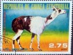Stamps Equatorial Guinea -  Intercambio nfxb 0,25 usd 2,75 ekuele 1977