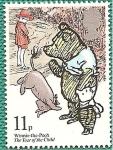 Stamps United Kingdom -  Año del niño - cuentos - Winnie Pooh