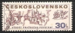 Sellos de Europa - Checoslovaquia -  25th anniv. of the Prague uprising