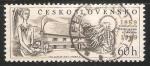 Sellos de Europa - Checoslovaquia -  100.výročí Znievského gymnázia