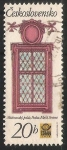 Stamps Czechoslovakia -  Window, Michna palace