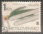 Sellos de Europa - Checoslovaquia -  7th World Ski-jumping Championships