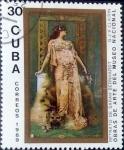 Sellos de America - Cuba -  Intercambio 0,20 usd 30 cent. 1989