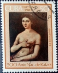 Sellos de America - Cuba -  Intercambio cryf 0,65 usd 50 cent. 1983