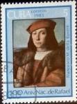 Stamps : America : Cuba :  Intercambio 0,20 usd 5 cent. 1983