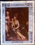 Sellos de America - Camboya -  Intercambio 0,20 usd 20 cent. 1984