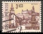 Sellos de Europa - Checoslovaquia -  Bratislava