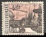 Stamps Czechoslovakia -  Praga