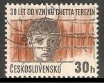 Sellos de Europa - Checoslovaquia -  Campo de concentración de Theresienstadt