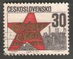 Stamps Czechoslovakia -  25th anniversary of the Communist revolution in 1948 - 25 aniversario revolucion de terciopelo