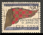 Sellos de Europa - Checoslovaquia -   University of Olomouc, 400th anniv.