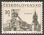 Sellos de Europa - Checoslovaquia -  Pribram