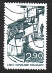 Stamps France -  Turismo