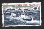 Stamps France -  Rescue at Sea