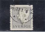 Sellos de Europa - Suecia -  Gustavo VI Adolfo de Suecia