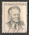 Sellos de Europa - Checoslovaquia -  Antonín Novotný president