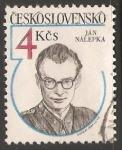 Sellos de Europa - Checoslovaquia -  Jan Nalepka