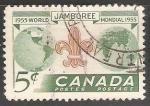 Sellos de America - Canadá -  World Scout Jamboree