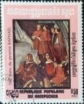 Stamps : Asia : Cambodia :  Intercambio 0,30 usd 0,50 r. 1983