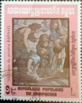 Stamps : Asia : Cambodia :  Intercambio 0,30 usd 1 r. 1983
