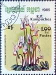 Sellos del Mundo : Asia : Camboya : Intercambio mb 0,20 usd 1 r. 1985