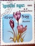 Stamps : Asia : Cambodia :  Intercambio 0,35 usd 3 r. 1985