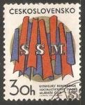 Sellos de Europa - Checoslovaquia -  SSM