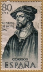 Stamps Europe - Spain -  Rodrigo de Bastidas